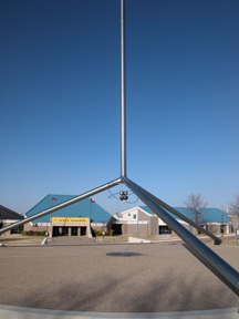 The Helium Monument