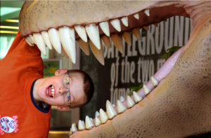 Give TODAY and Help Us Bring the Dinos!